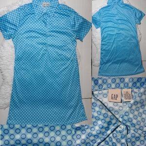 Gap Vintage Style Short Sleeve Dress-Size M